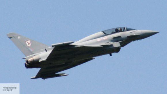 Британские истребители Typhoon были отправлены на перехват российских самолетов