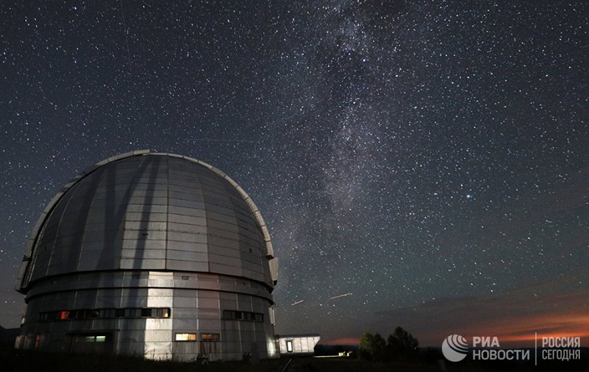 В России предложили построить четырехметровый телескоп