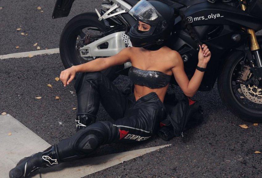 Самая сексуальная девушка-байкер Ольга Петрова погибла в ДТП