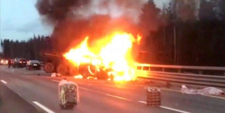 Крупная авария в Санкт-Петербурге: погибло 8 человек