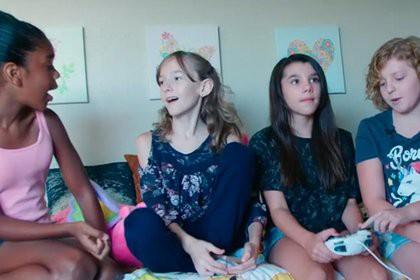 Три лучших друга стали лучшими подругами