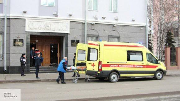 Специалисты СК завершили работу на месте взрыва в здании ФСБ Архангельска