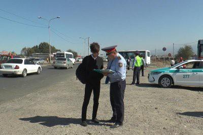 Более 70 пешеходов оштрафовали за 1 час в Алматы