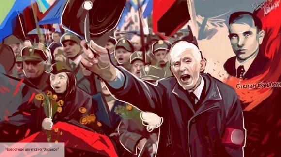 «Героям слава»: Караул в Киеве приветствовал Меркель националистическим лозунгом