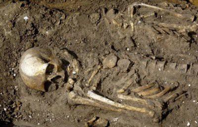 В подвале пустующего дома в Москве обнаружен скелет человека