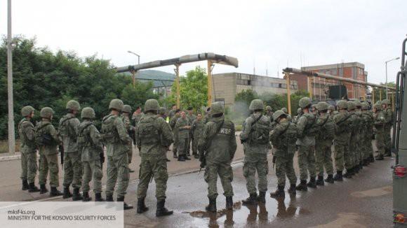 В министерстве обороны Косово рассказали о вооружении армии