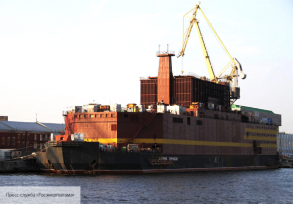 Запущен реактор первой отечественной плавучей АЭС «Академик Ломоносов»