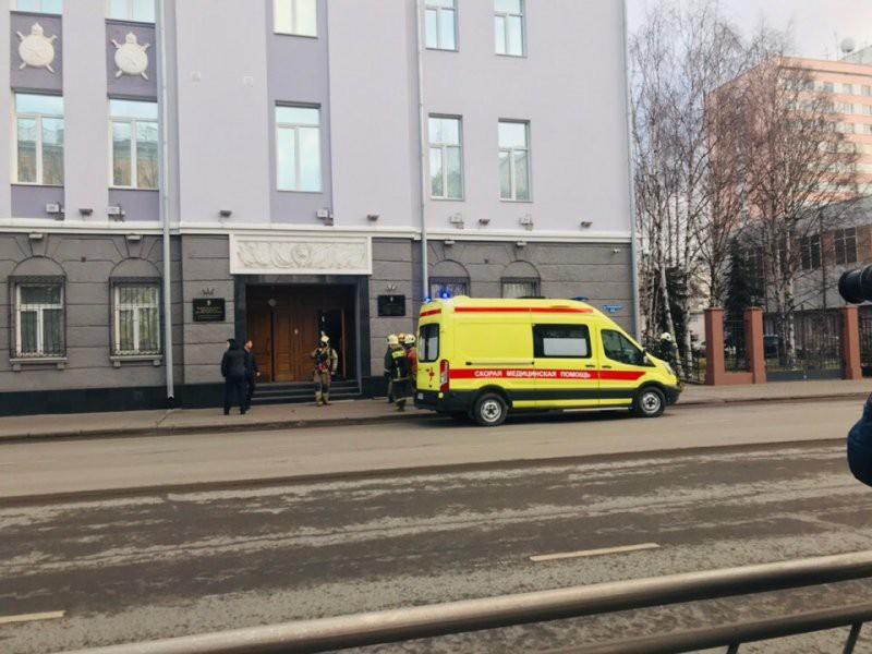 В Архангельске у здания ФСБ произошел взрыв — есть погибший и пострадавшие