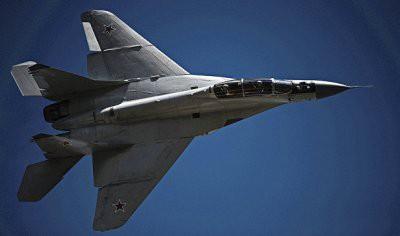 В Египте разбился собранный в России истребитель МиГ-29М