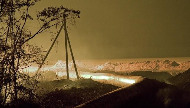 В Рязанской области прорвало магистральный газопровод   Свежие новости