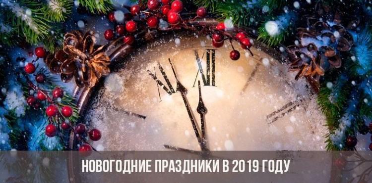 Новогодние каникулы 2019 года: сколько дней отдыхаем, куда поехать, где встретить   Свежие новости