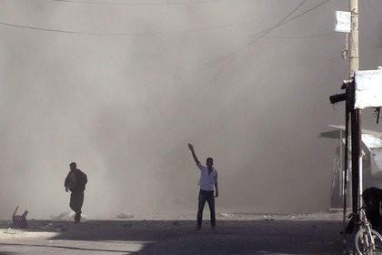 Коалиция США ударила по Сирии