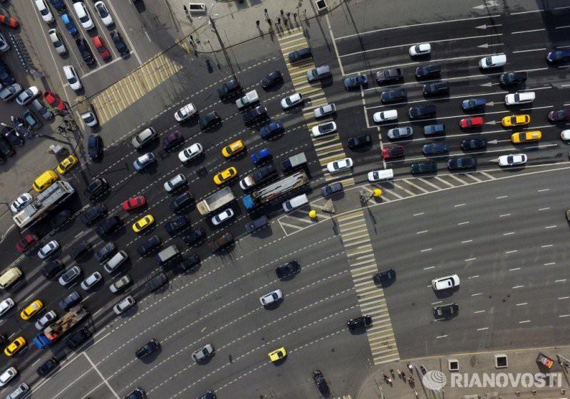 В Москве ограничат автомобильное движение 4 и 7 ноября