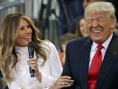 Трамп сказал, что его супруге нелегко быть с ним в браке