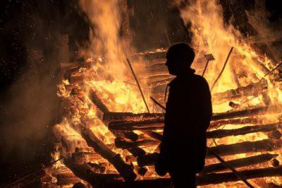 В результате пожара на юго-востоке Москвы погиб один человек