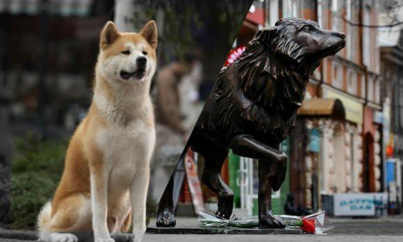 Хатико с ЧМЗ: в Челябинске поставили памятник псу по кличке Беляш