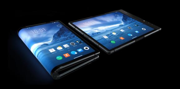 Китайская компания Royole представила первый в мире сгибающийся смартфон
