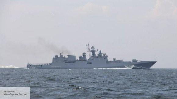 «Буревестник» в Средиземном море: фрегат «Адмирал Макаров» покинул Крым