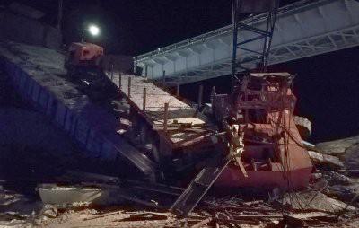 В ХМАО обрушился мост: есть погибшие