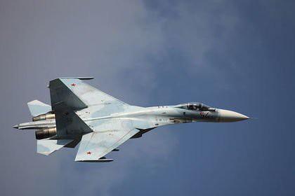 Су-27 перехватил самолет-разведчик США над Черным морем