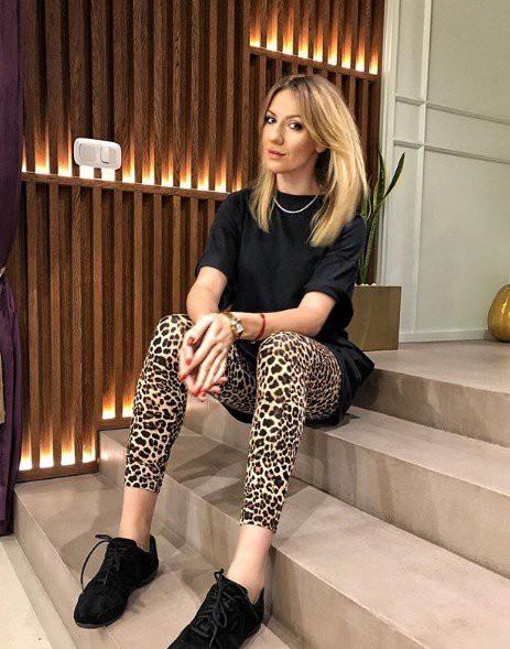 Леся Никитюк продемонстрировала стильный LOOK