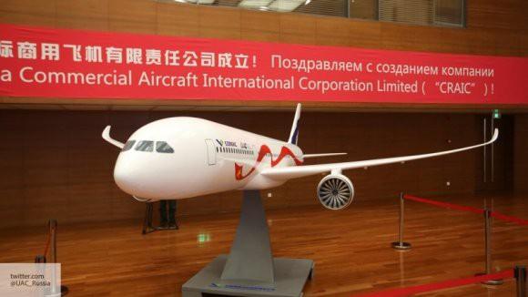 Представлен макет российско-китайского самолета CR929