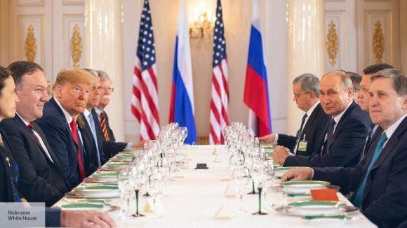 Макрон помешал полноформатной встрече Трампа и Путина