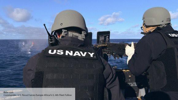 Американские моряки сняли на видео сближение с китайским кораблем