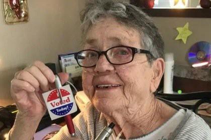 82-летняя американка впервые в жизни сходила на выборы и умерла