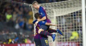 Интер — Барселона. Прямая онлайн-трансляция матча Лиги чемпионов. Результат матча