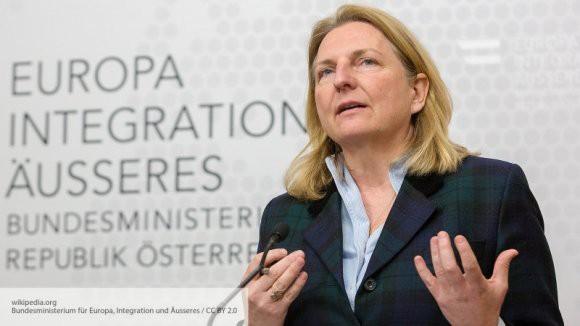 Глава МИД Австрии рассказала о своих планах посетить Москву