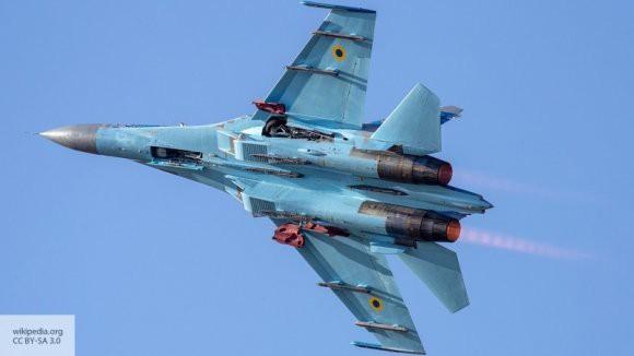 Британских журналистов встревожили российские Су-27