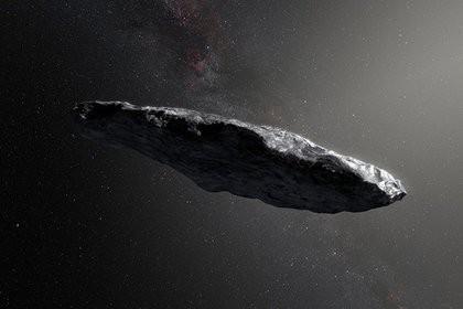 Загадочный астероид назвали инопланетным зондом