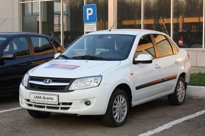 LADA Vesta в октябре признана продаваемой моделью в России