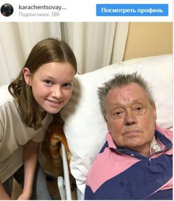 В сети опубликованы последние прижизненные фото Николая Караченцова