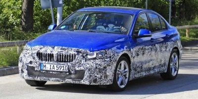 Прототип седана BMW 1-Series замечен на тестах