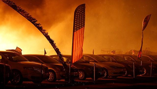 В Калифорнии лесные пожары охватили более 15 тысяч гектаров   Свежие новости