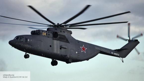 Самый большой транспортный вертолет в мире: в Сети появились кадры с новым Ми-26