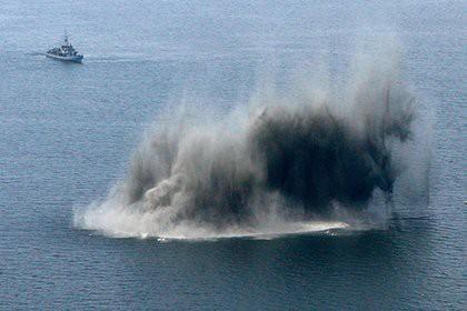 Объяснены загадочные взрывы морских мин США