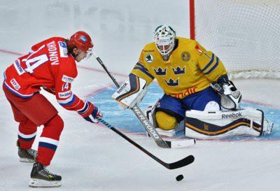 Швеция – Россия сыграют сегодня в рамках Кубка Кальяра