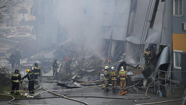 В Петербурге возросло число пострадавших при пожаре в гипермаркете | Свежие новости