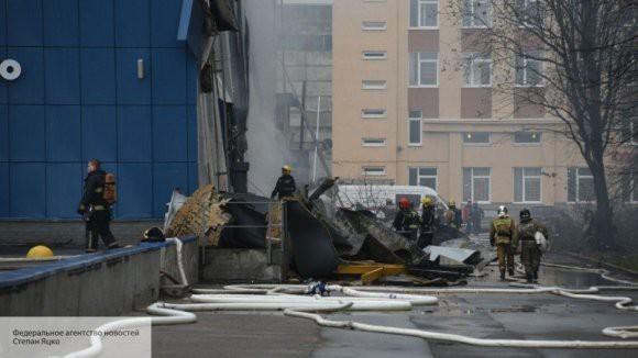 Система пожаротушения в горевшей «Ленте» была переведена в ручной режим