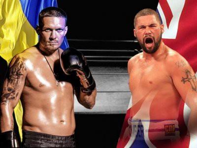 10 ноября в Манчестере встретятся украинский боксер Александр Усик и британец Тони Белью
