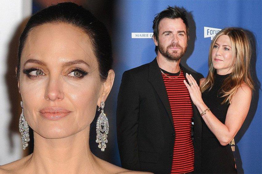 Анджелина Джоли тайно встречается с бывшим мужем Дженнифер Энистон