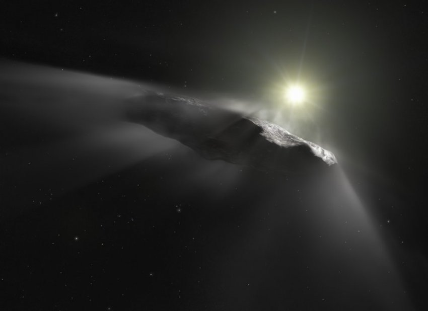 """Астрономы Гарварда: """"Странный астероид Оумуамуа может быть внеземным солнечным парусом"""""""