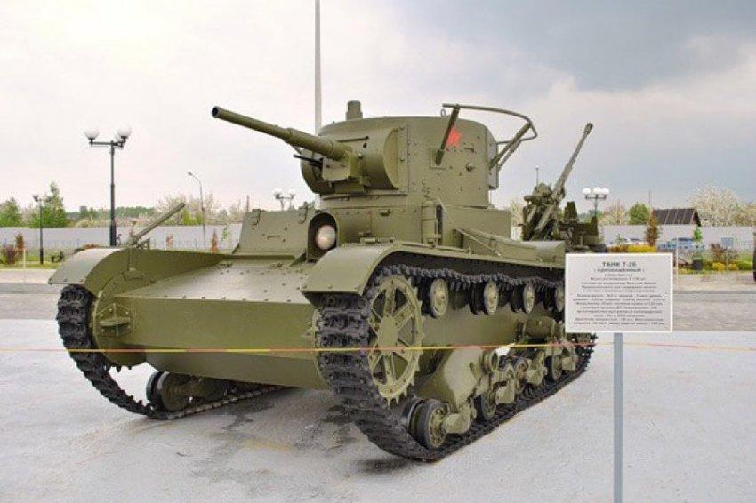 Легкий танк Т-26: мал, да удал!