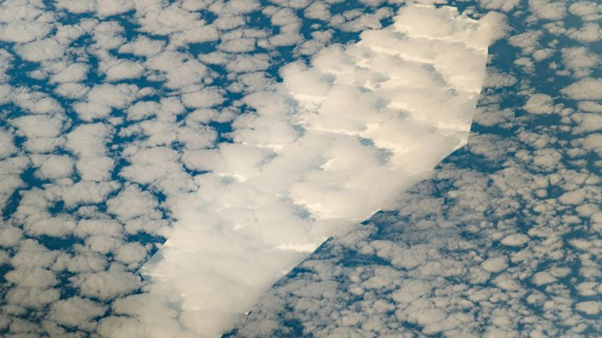 НАСА выложило фото айсберга в виде гроба