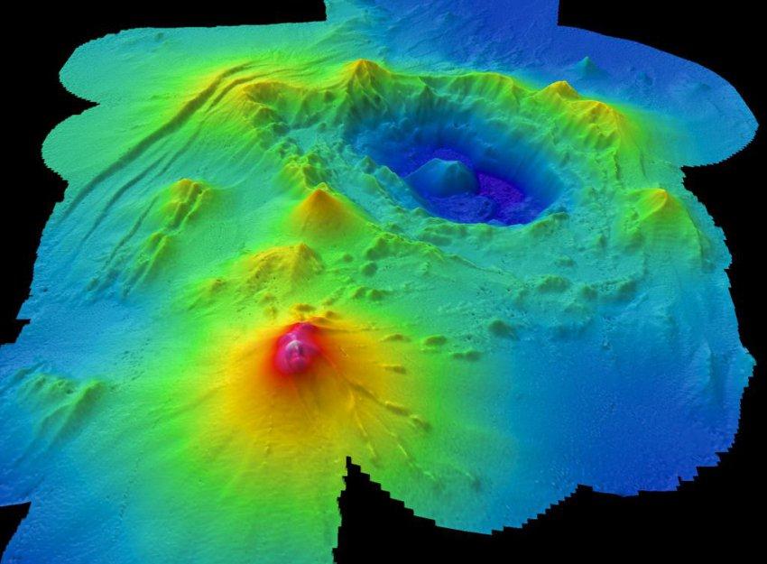 На дне Тихого океана нашли вулкан размером с Британию