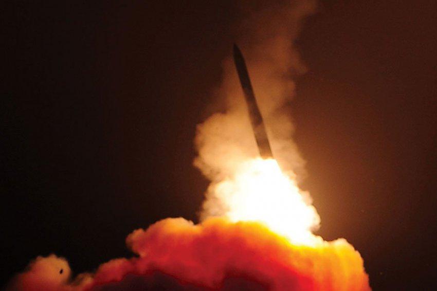 В РФ оценили запуск баллистической ракеты Minuteman III в США