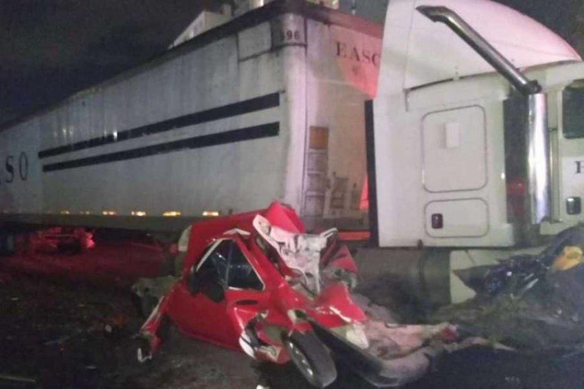 Семь человек погибли в массовом ДТП у столицы Мексики